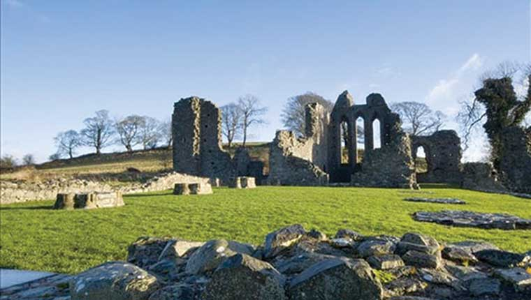 Inch Abbey, County Down