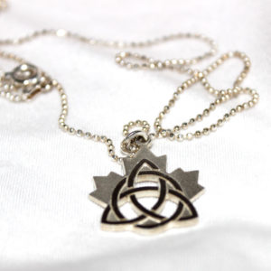 Celtic Maple Leaf Pendant