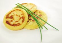 Potato, pancakes, horseradish, food, recipe
