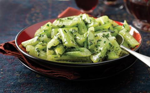 Celery, Herby Butter,