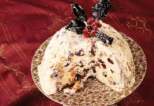 Ice Cream Pudding, Christmas Pudding,