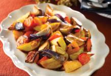 Roasted Vegetables, Christmas Vegetables, Christmas Dinner