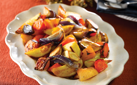 Roasted Vegetables, Christmas Vegetables, Christmas Dinner