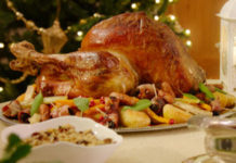 Turkey, Christmas Turkey, Chestnut Stuffing,