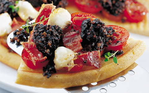Black Pudding Pizza,