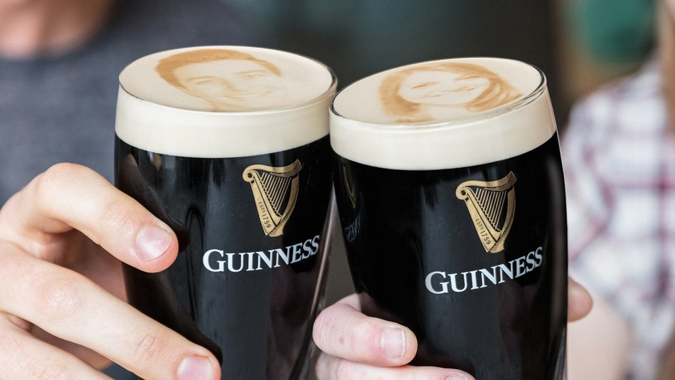 the picture perfect pint the guinness storehouse introduces the