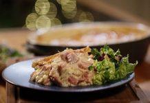 Turkey Ham & Leek Pie